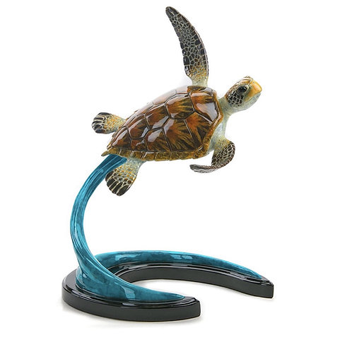 Lulu, bronze turtle