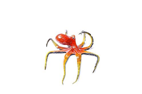 Mango, bronze octopus