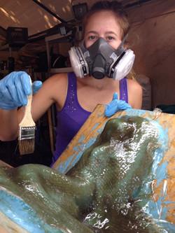 Sage mold making