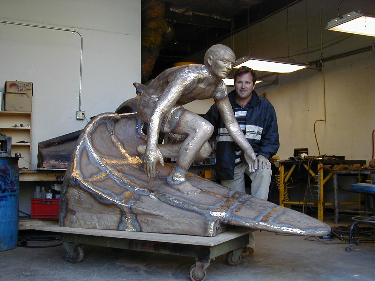 Chris Barela - Life size bronze