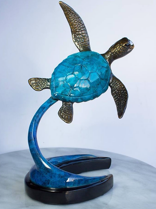 Little Lulu, bronze turtle