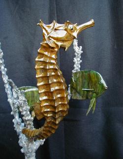 Bronze Sea Horse