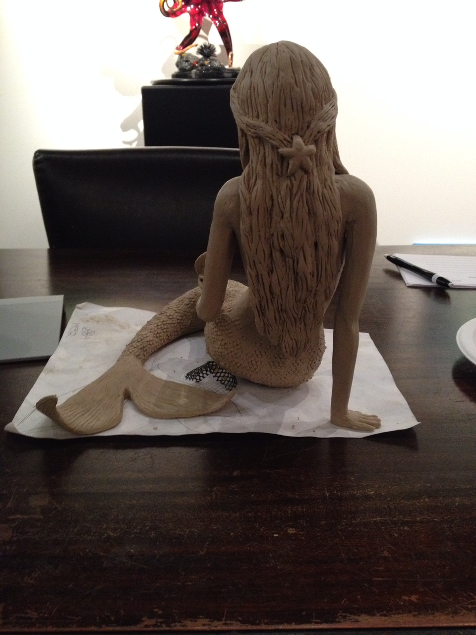 Sage Barela Mermaid Clay