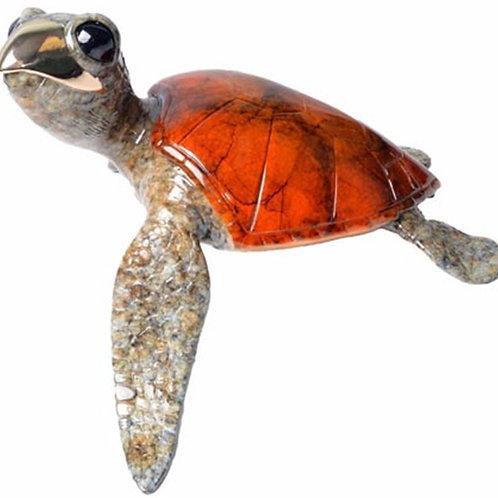 Alani, bronze turtle