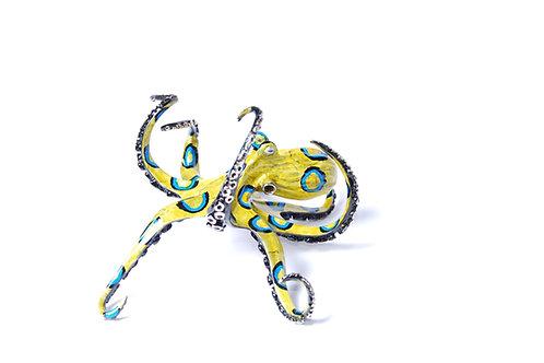 Ringo, bronze octopus