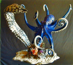 Octopus with Eel
