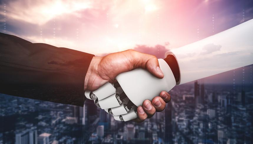 humanoid-robot-handshake-to-collaborate-