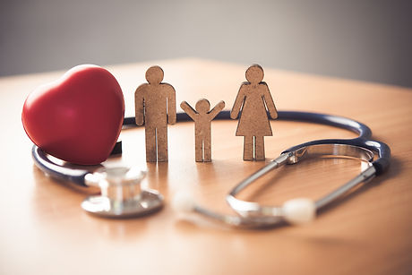 medical-insurance-with-family-stethoscop