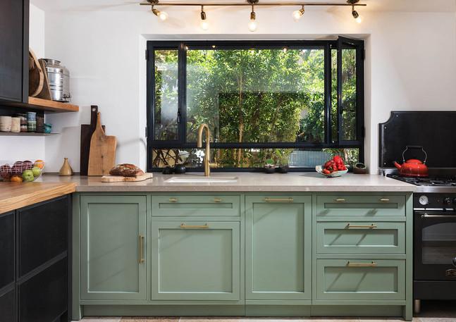 Green kitchen, Hod Hasharon