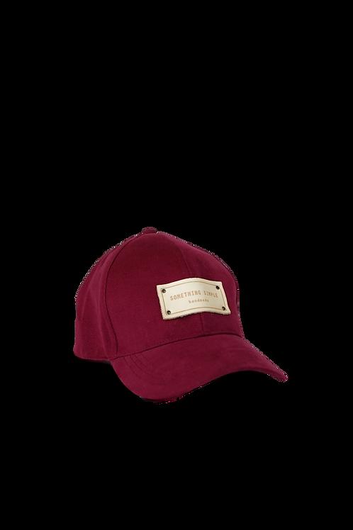 SIMPLE CAP - maroon