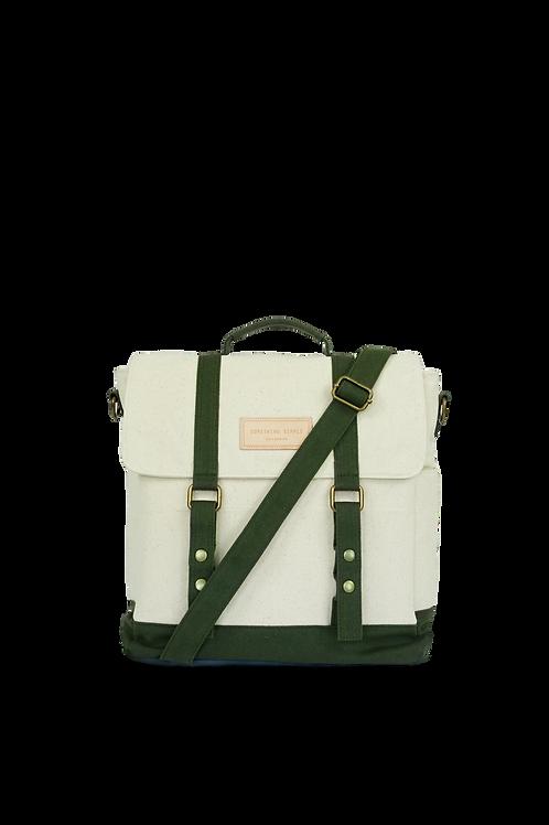 KELLY - white / green