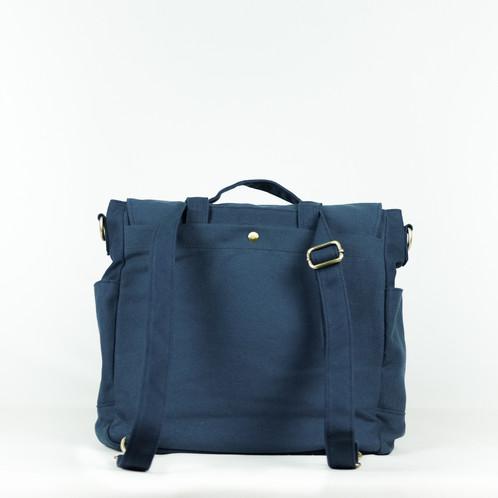 MESSENGER BAG - Marine blue