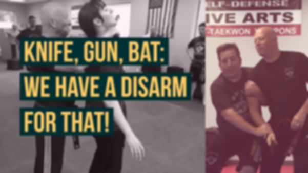 Pictures and videos of self defense and knife disarms