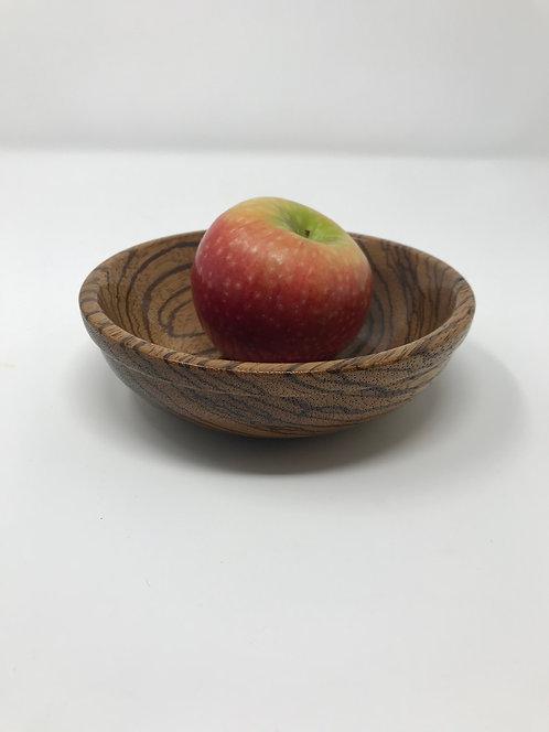 Small Zebrawood Bowl