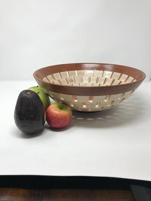 Segmented Fruit/Bread Bowl