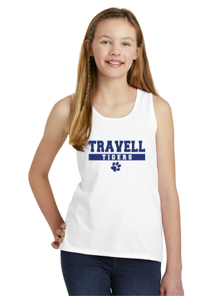 Travell Girls Tank Top White