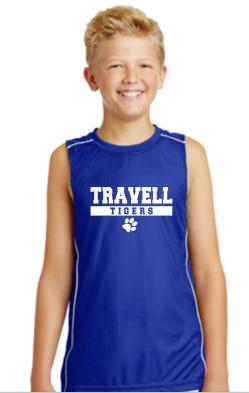 Travell Boys Tank Top Blue