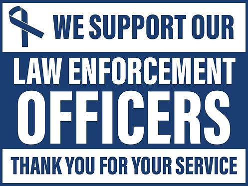 Law Enforcement 18x24