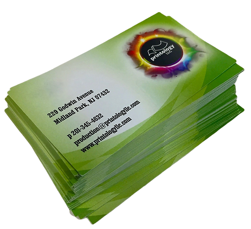 500 Business Cards print single sided