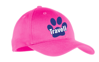 Travell Adult Hat Pink