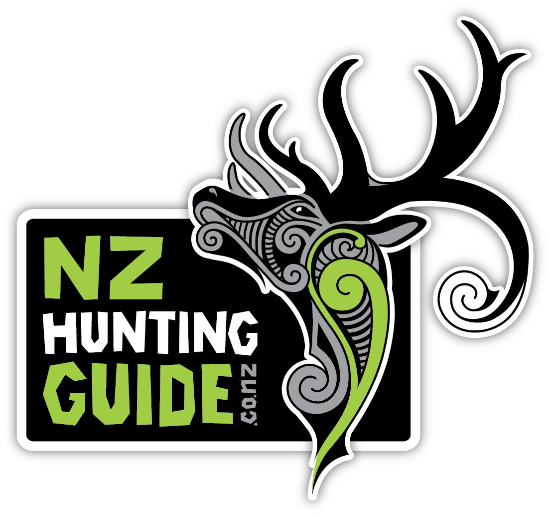NZ hunting guide logo on clear