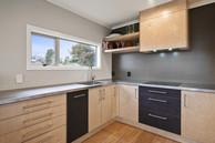 Wood kitchen taupo
