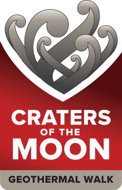 Craters of the Moon logo Portrait
