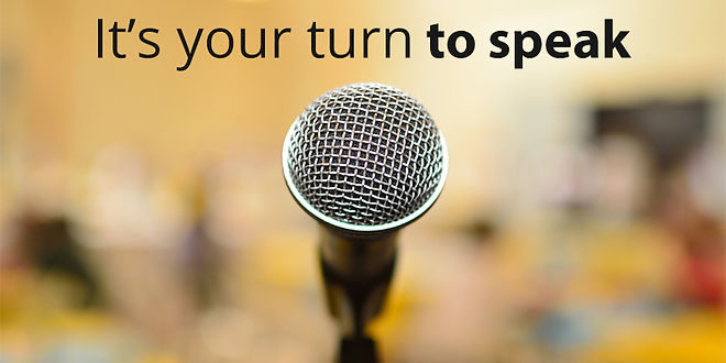 Your turn to Speak