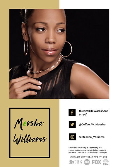 Meosha Williams Press Kit