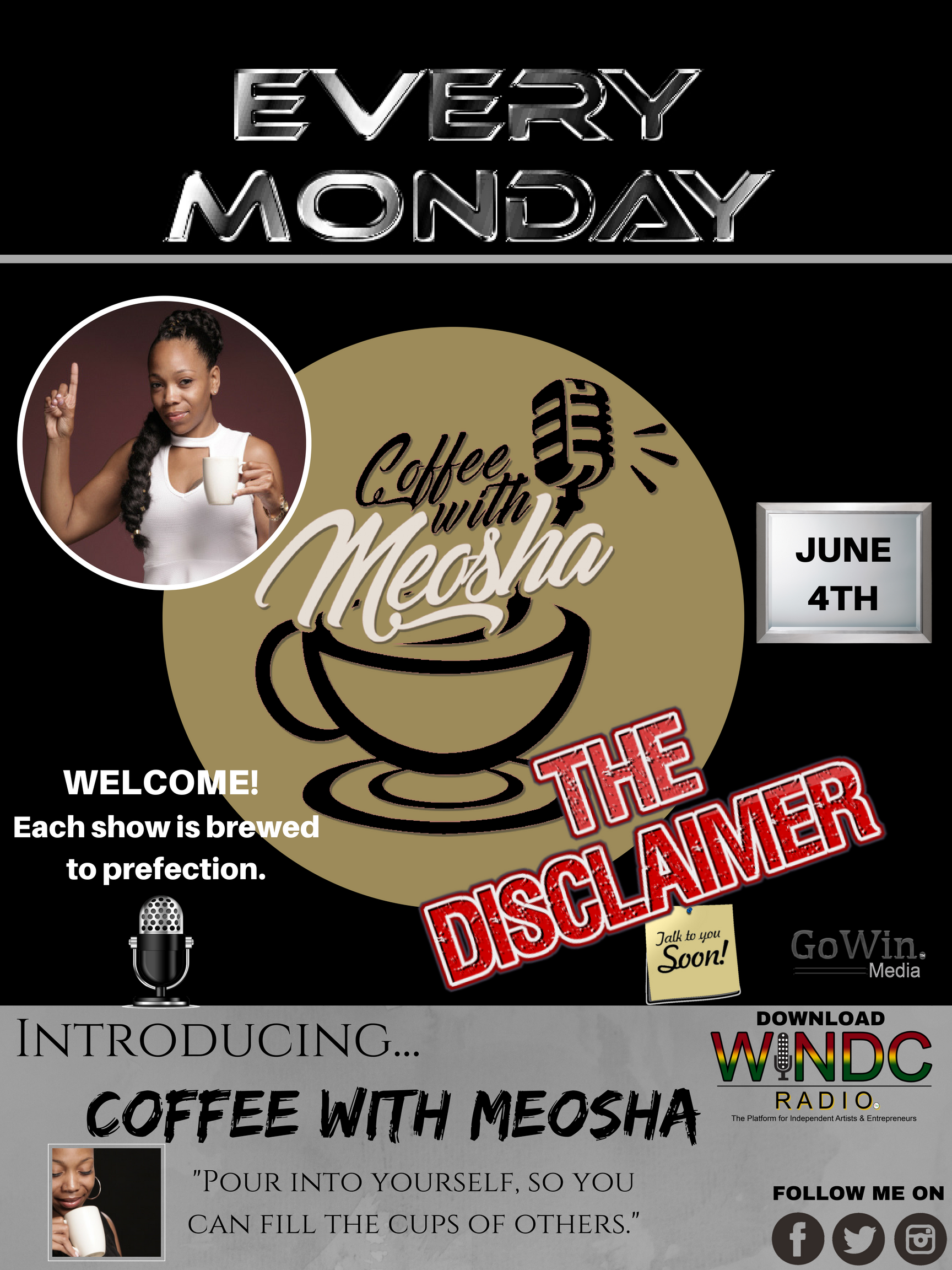 Coffee with Meosha - The Disclaimer