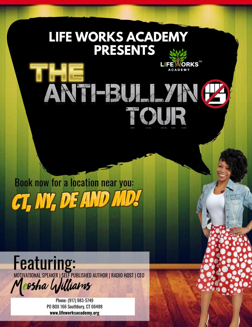 Anti Bullying Tour