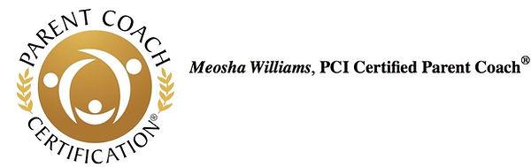 Meosha Williams, PCI Certified Parent Coach