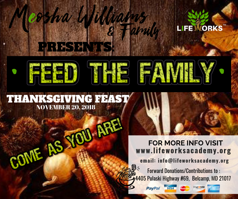 FEED THE FAMILY LW