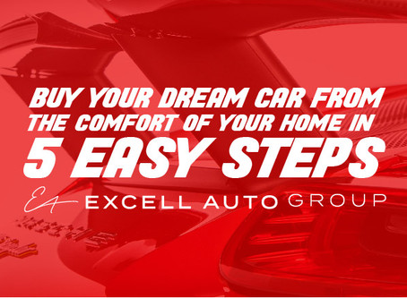 Buy your dream car from the comfort of your home in 5 easy steps!