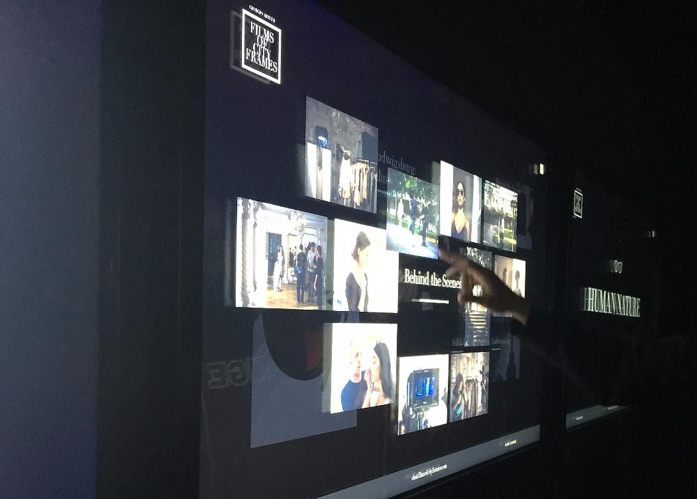 Inside the Giorgio Armani experiential exhibition house at 2017 SXSW