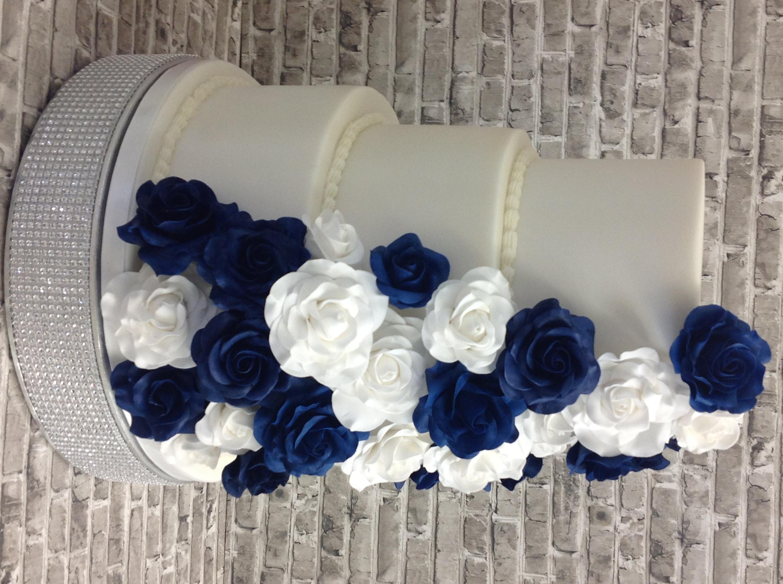 Chloe And Bobby's Wedding cake