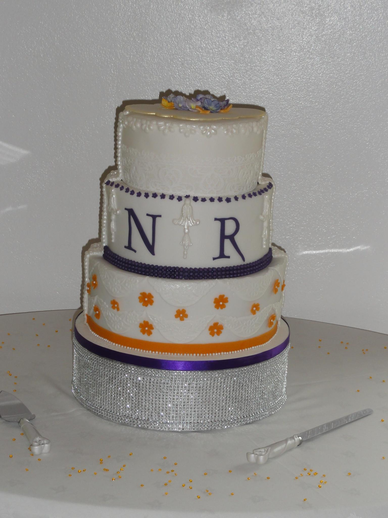 Wedding Cake two sided