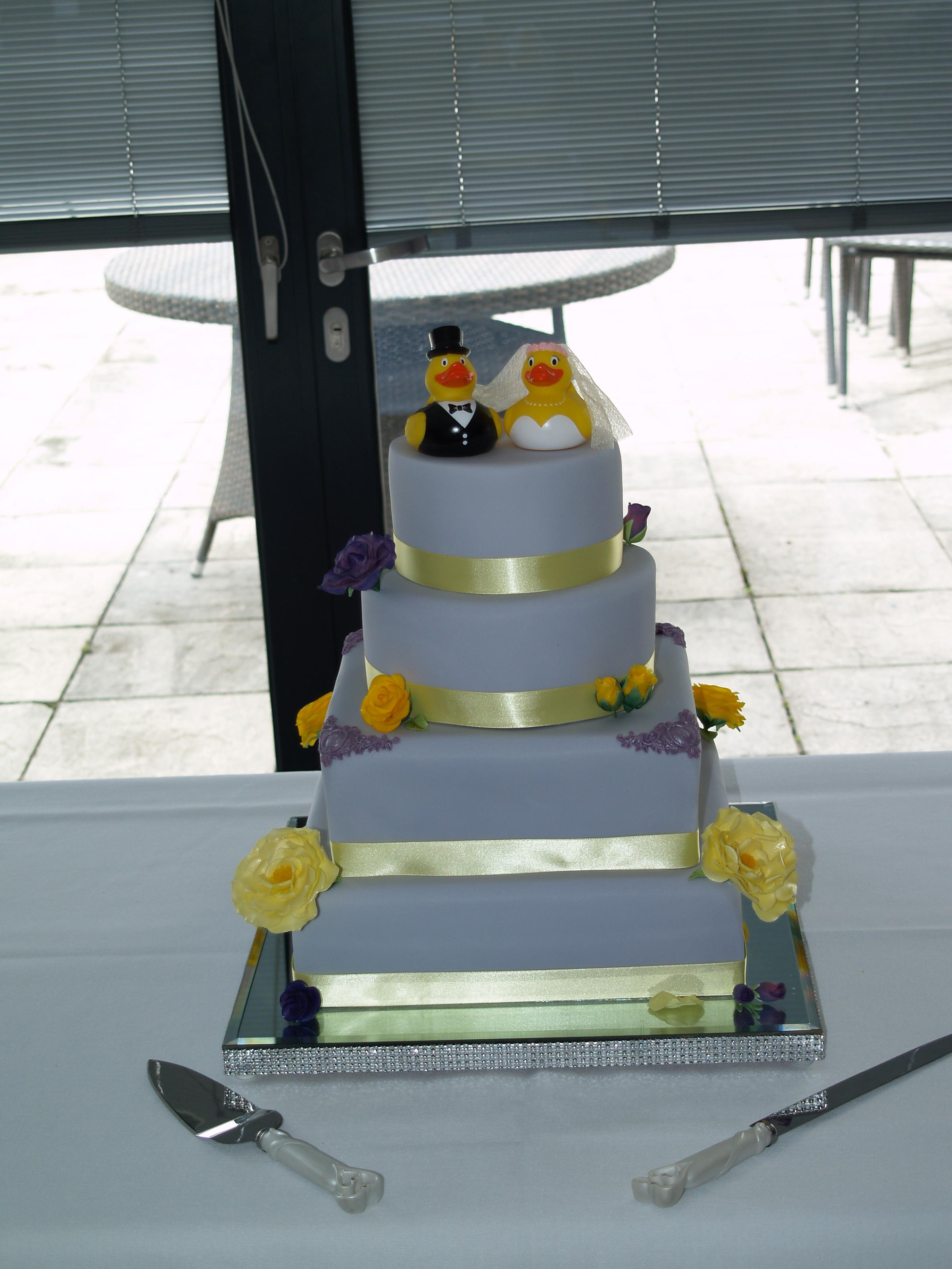 Dom & Stephs Wedding Cake