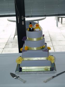 Dom & Stephs Wedding Cake