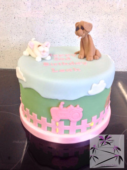 Leah's 2nd BDay Cake