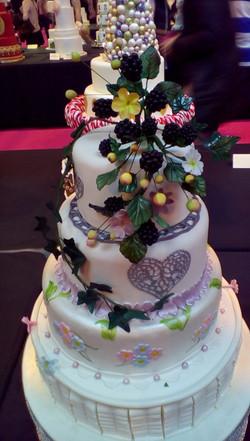 NEC Wedding Cake Pic