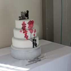 Kelly & Andy's Wedding Cake