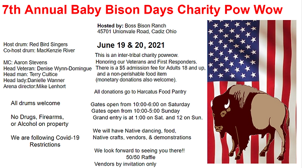 2021 baby Bison Days Flyer with drum.png