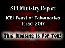 ICEJ Feast of Tabernacles Israel 2017