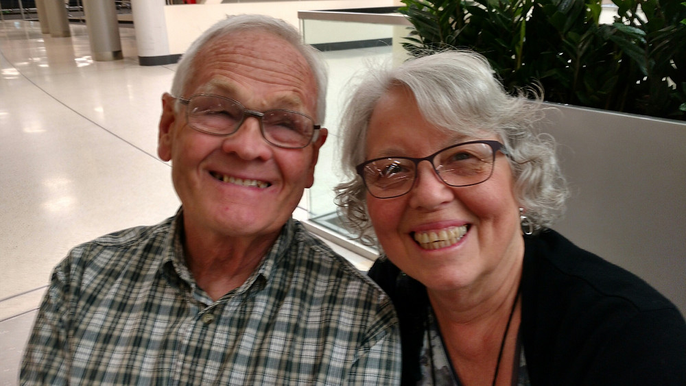 Dick & Sue Robertson - Columbus, Ohio Airport