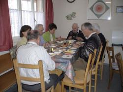 Gemütliches Vorweihnachtsessen, 2008