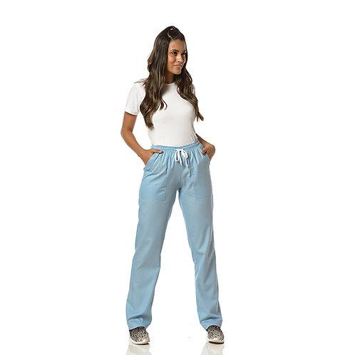 Calça elástico tipo pijama com bolso