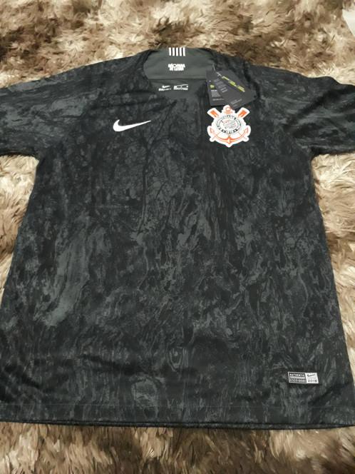 3f5aeb5ccf Camisa Corinthians uniforme 2 2018