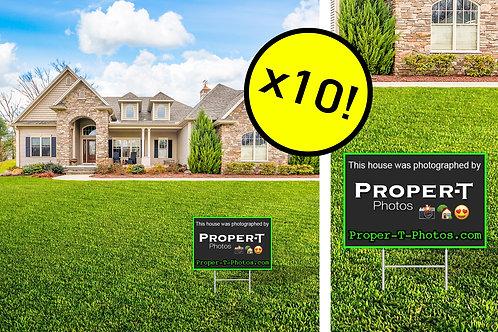 10 Proper-T-Photos Yard Signs