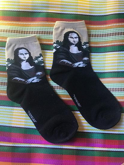 Mona Lisa Socks